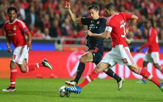 Lewandowski in car accident days before Benfica clash