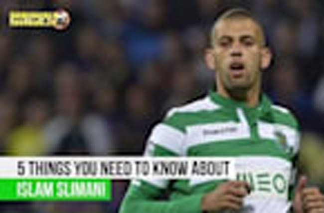 Islam Slimani - 5 things you need to know