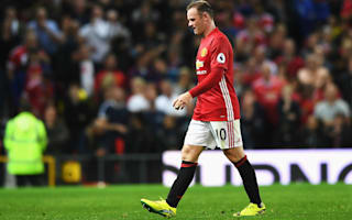Rooney left out of Manchester United squad for Feyenoord clash