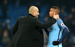 Guardiola 'never going to give up' on Premier League title