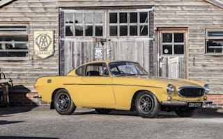 Classic Volvo P1800 coupe heading to auction