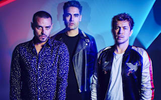 Watch live as Busted join us in the AOL Build UK London studio