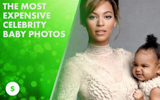 Hollywood's most expensive baby photos: will Beyoncé top them?