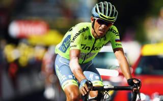 Contador struggles to breathe at Tour