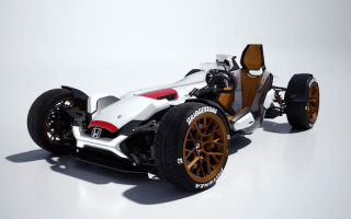 Hot wheels! Honda reveals Project 2&4 machine