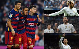 Clasico gives Real Madrid's BBC chance for rare moment over Barcelona's MSN