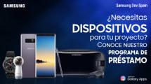 Samsung tiene nuevos dispositivos para prestar a los desarrolladores