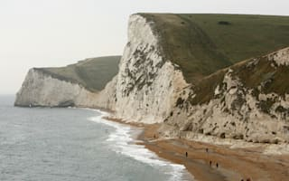 "Dorset beach cordoned off after ""large"" cliff fall"