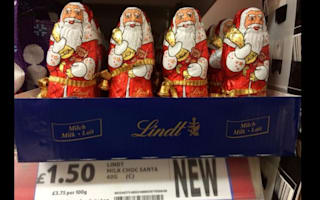Christmas hits the shelves in Tesco and Co-op earlier than ever