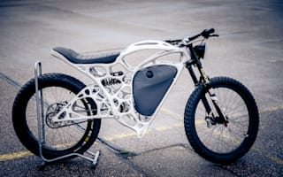 Airbus builds electric motorcycle to showcase 3D printing