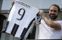 Higuain sets sights on Champions League after Juventus move