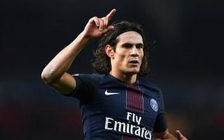 Paris Saint-Germain 2 Montpellier 0: Cavani and Di Maria send Emery's men top