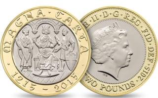 'Schoolboy error' on new £2 coin