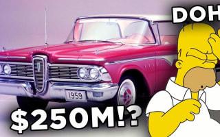 Ten biggest wastes of money in history