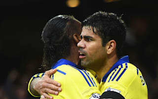Drogba fantastic with me at Chelsea - Costa hails his idol