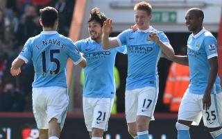 AFC Bournemouth 0 Manchester City 4: Brilliant De Bruyne inspires City on return
