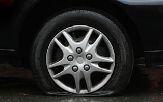More than half of drivers can't change a flat tyre