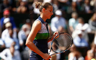 Pliskova plays down number one talk in Paris