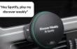 Este sería el primer hardware de Spotify: un reproductor para tu coche