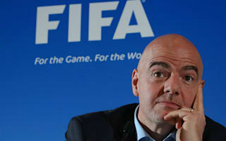 Infantino explains FIFA vision in Colombia