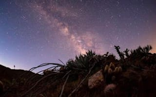 Beautiful time lapse of the Anza Borego desert