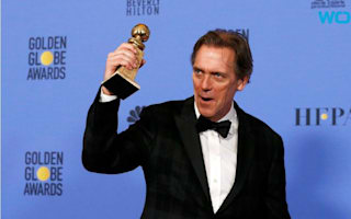 Hugh Laurie hits out at Donald Trump as The Night Manager bags two Golden Globes