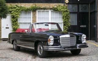 Rare Mercedes-Benz 280 SE 3.5 Cabriolet offered for sale