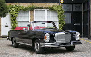 Rare Mercedes-Benz 280 SE 3.5 Cabriolet offered for sale