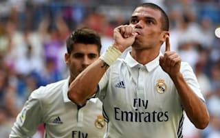 Pepe resumes light Real Madrid training