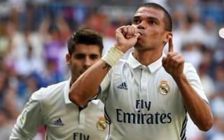 Pepe resumes light Real Madrid training