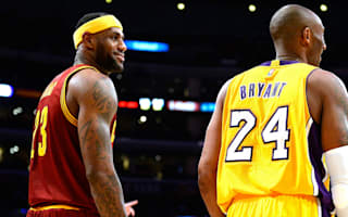 LeBron James surpasses Kobe Bryant on two different NBA playoff record lists