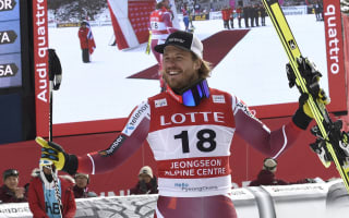 Jansrud wins downhill in South Korea