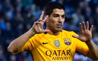 Barcelona v Sporting Gijon: Suarez not expecting rivals to slip up