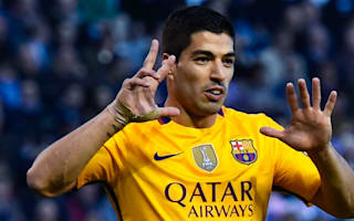Barcelona v Sporting Gijon: Suarez not expecting rivals to slip up