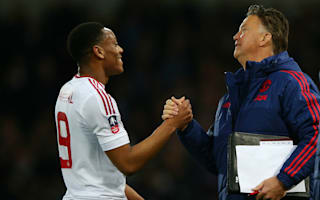Martial: Van Gaal did a lot for me