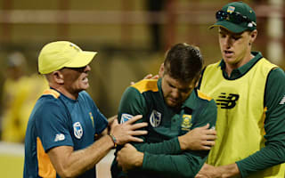 Injured Rossouw replaced by Elgar for tri-series
