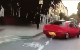 Jeremy Vine angers fellow cyclists in apparent near-miss
