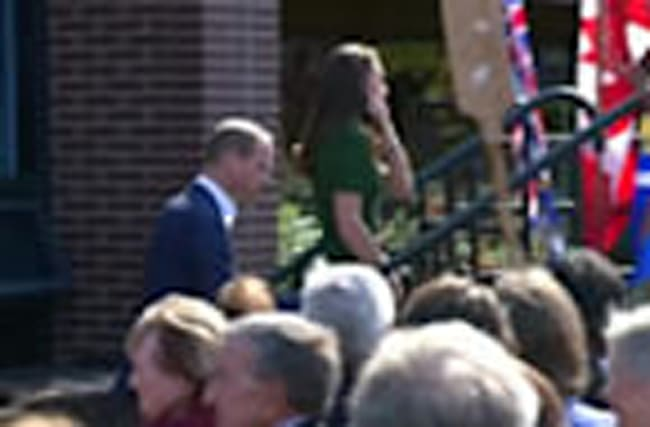 Prince William, Catherine, tour Canadian university