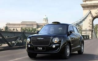 Geely reveals design for new London taxi