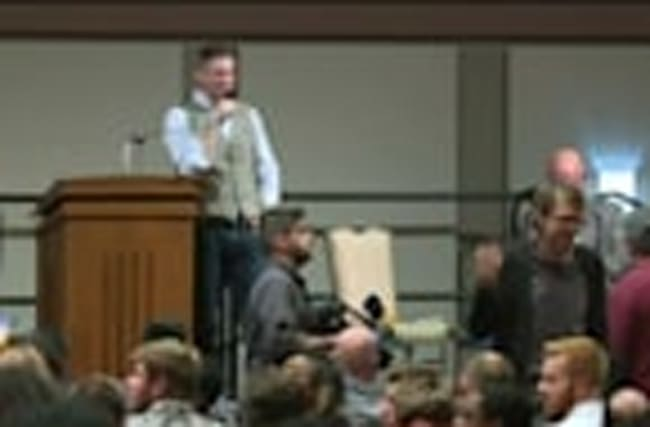 White nationalist's speech sparks protests at Texas university