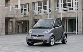Smart ForTwo refreshed. Looks like infant.