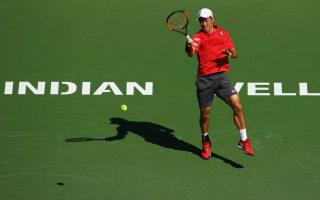 Nishikori advances as big three win through at Paribas Open