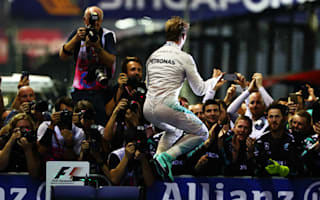 Rosberg delight at Singapore win