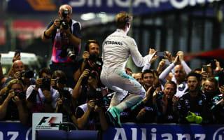 Rosberg delight at Singapore win