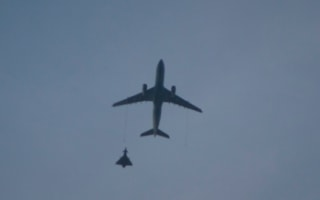 RAF fighter jets scambled to escort plane to Birmingham Airport