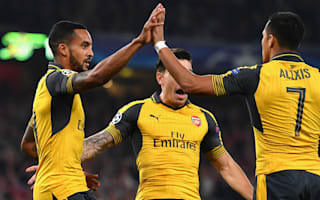 Arsenal 2 Basel 0: Walcott's capital gains tax Swiss visitors