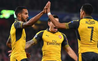 Arsenal 2 Basel 0: Walcott's capital gains tax Swiss visitors
