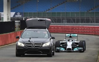 Take a ride in the 2014 Mercedes AMG Petronas F1 car
