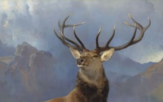 Monarch of the Glen painting to remain in Scotland after donations