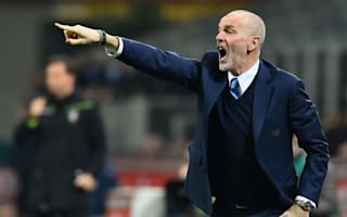 Pioli rues setback in Inter's quest for Champions League